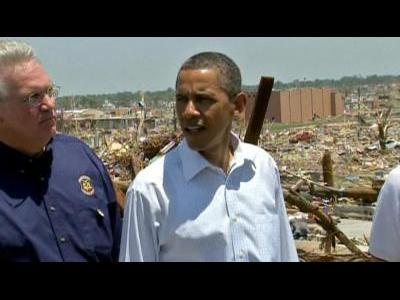"Obama to Joplin: ""We are not going anywhere"""