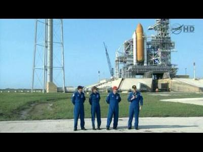 Atlantis crew prepares for launch