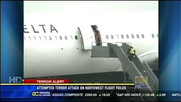 Airports increase security after Detroit terrorist incident