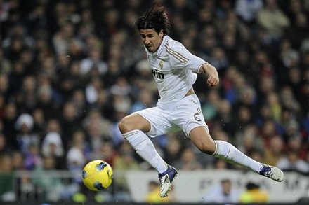 Real Madrid's Sami Khedira From Germany Controls