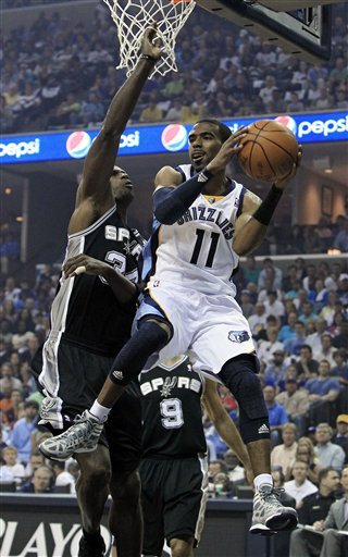 Memphis now win at home, go up 2-1 over Spurs Ap-6ef8f370dd8047bc8967fce6a4df5732