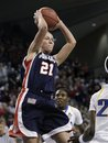 FILE -- Gonzaga's Courtney Vandersloot leaps to pass under the basket against UCLA in a second-round game in the NCAA womens college basketball tournament in this March 21, 2011, file photo, in Spokane, Wash. Vandersloot was chosen by the Chicago Sky as the No. 3 pick in the WNBA basketball draft in Bristol, Conn., Monday, April 11, 2011.