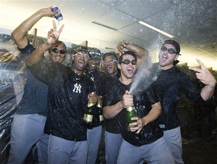 New York Yankees Celebrate