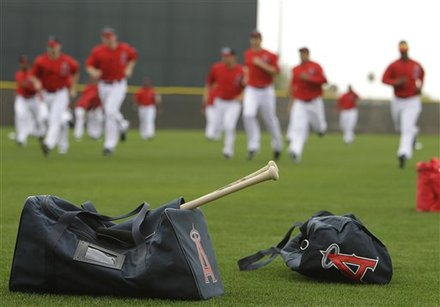 Los Angeles Angels Players
