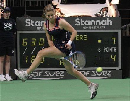 Belgium's Kim Clijsters Returns