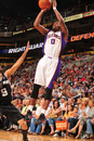 PHOENIX, AZ - APRIL 13: Aaron Brooks #0 of the Phoenix Suns shoots against the San Antonio Spurs in an NBA game played on April 13, 2011 at U.S. Airways Center in Phoenix, Arizona. (Photo by Barry Gossage/NBAE via Getty Images)