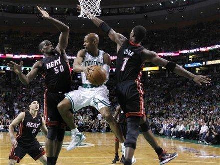 James, Wade lead Heat past Celtics 98-90 in OT Ap-201105091834668586808