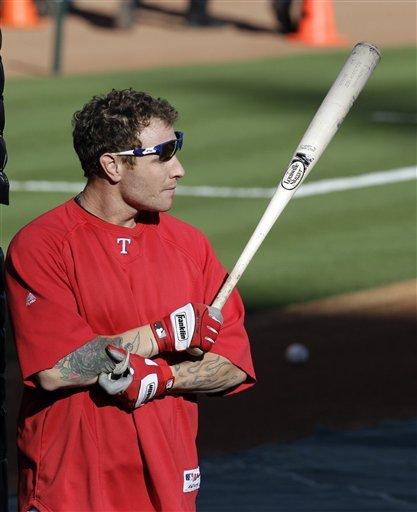 Texas Rangers' Josh Hamilton Prepares