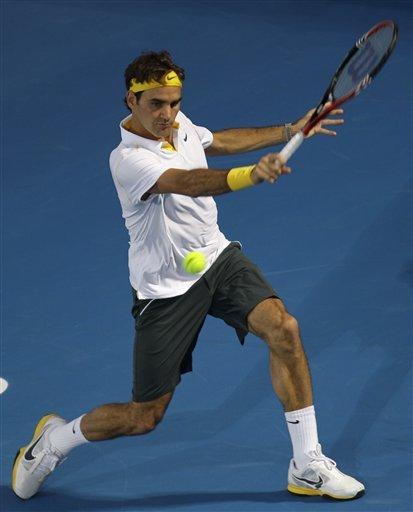 Roger Federer From Switzerland Returns