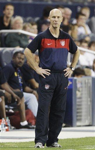 USA Coach Bob Bradley Watches
