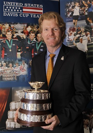 Two-time Davis Cup Champion Jim Courier, Who Signed A Multi-year Agreement To Lead The U.S. Davis Cup Team, Is Shown