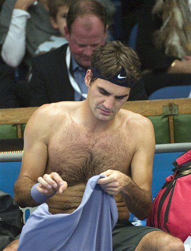 Roger Federer Of Switzerland Changes