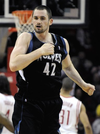 Minnesota Timberwolves' Kevin Love Beats