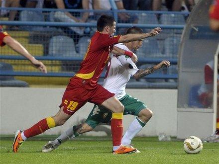 Bulgaria's Ivan Bandalovski, Behind, Challenges