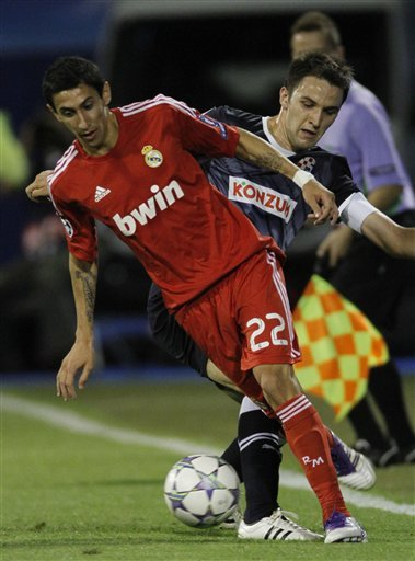 Real Madrid's Angel Di Maria Is