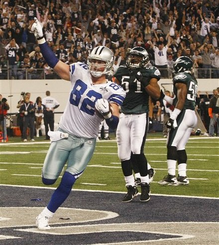 <a class='sbn-auto-link' href='http://www.sbnation.com/nfl/teams/dallas-cowboys'>Dallas Cowboys</a> Tight End Jason Witten (82) Scores