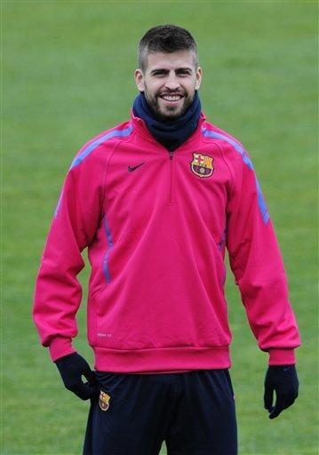 FC Barcelona's Gerard Pique Attends