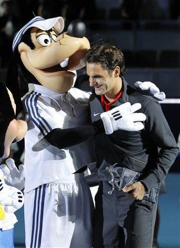 Switzerland's Roger Federer Is