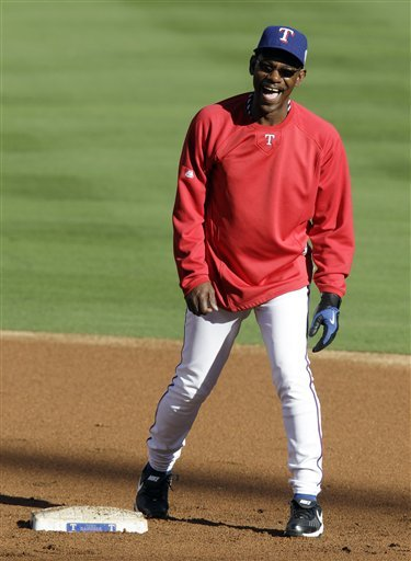 Texas Rangers Manager Ron Washington Reacts