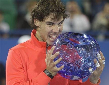 Rafael Nadal From Spain Poses