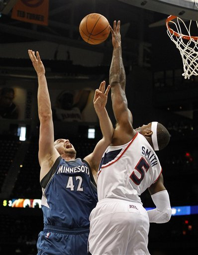 Minnesota Timberwolves Forward Kevin Love (42) Has