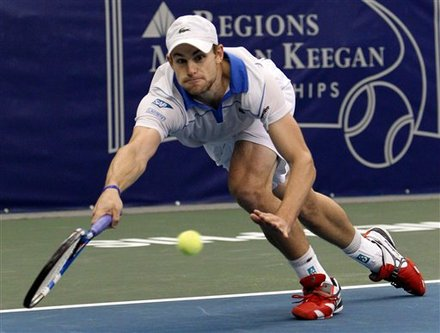 Andy Roddick Makes