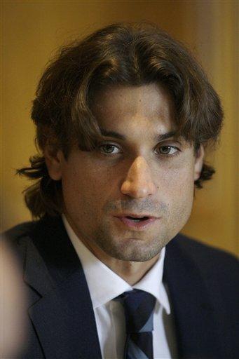 David Ferrer Of Spain Talks