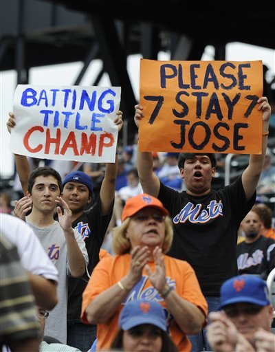 Jose Reyes Merchandise All Sold Out At Citi Field