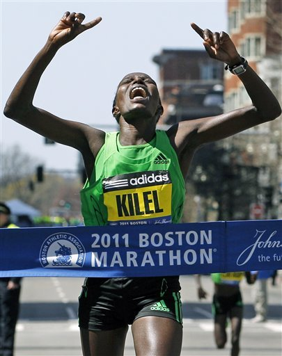 boston marathon poop 2011. Boston Marathon 2011 - Kenyan