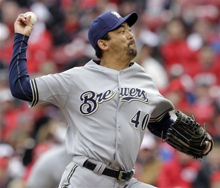 Milwaukee Brewers Relief Pitcher <a class=