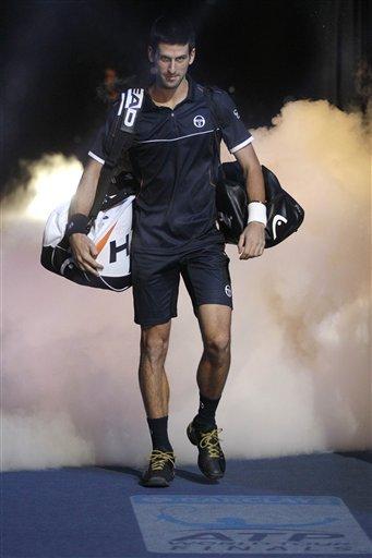 Serbia's Novak Djokovic Arrives