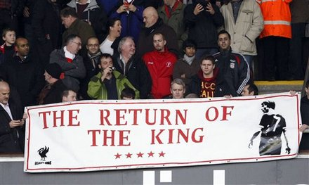 Fans Hold Up A Banner