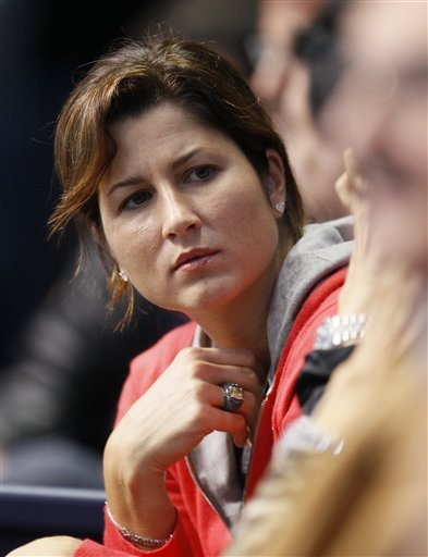 Mirka Vavrinec, Wife Of Switzerland's Roger Federer Watches
