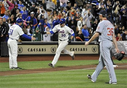 Thole Story! Mets Win 2-1 In Extras