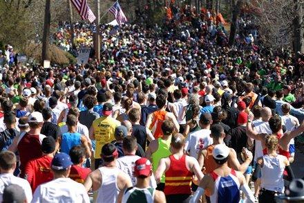 boston marathon map 2011. Boston marathon map 2011