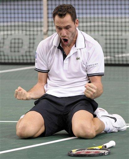 France's Michael Llodra Reacts