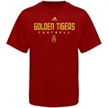 adidas Tuskegee Golden Tigers Red Sideline T-shirt