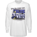Creighton Bluejays White All About Long Sleeve T-shirt