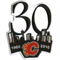 Calgary Flames 30th Anniversary Collectible Logo Patch