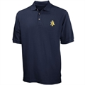 North Carolina A&T Aggies Navy Blue Team Logo Polo