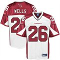 Reebok Beanie Wells Arizona Cardinals Replica Jersey - White