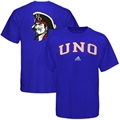 adidas New Orleans Privateers Royal Blue Relentless T-shirt