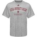 adidas Loyola Ramblers 2009 Ash Practice T-shirt