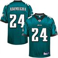 Reebok Nnamdi Asomugha Philadelphia Eagles Replica Jersey - Midnight Green