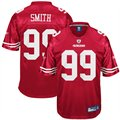 Reebok Aldon Smith San Francisco 49ers 2011 1st Round Draft Pick Replica Jersey - Cardinal