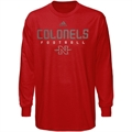 adidas Nicholls State Colonels Red Sideline Long Sleeve T-shirt