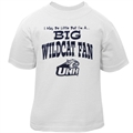 New Hampshire Wildcats Toddler White Big Fan T-shirt