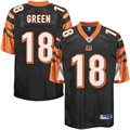 Reebok A.J. Green Cincinnati Bengals Youth 2011 1st Round Draft Pick Replica Jersey - Black