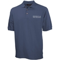 New Orleans Privateers Navy Blue Pique Polo