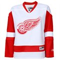 Reebok Detroit Red Wings Women's Edge Premier Jersey - Red-White